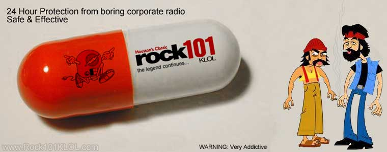 Rock 101 KLOL Cure All