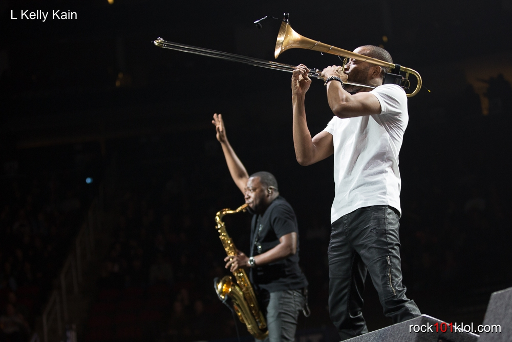 Rock 101 Klol Rhcp Amp Trombone Shorty 2017
